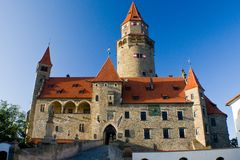 Bouzov castle Royalty Free Stock Photo