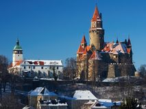 Bouzov Castle Royalty Free Stock Images