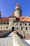 bouzov castle Στοκ εικόνα με δικαίωμα ελεύθερης χρήσης