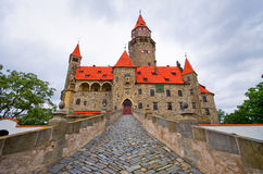 Bouzov castle Stock Image