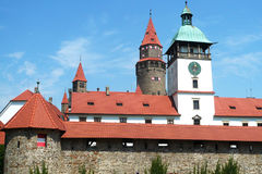 Bouzov Castle Royalty Free Stock Photography
