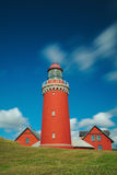 Bovbjerg Fyr lighthouse Royalty Free Stock Photography