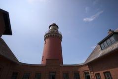 Bovbjerg Leuchtturm stockbild