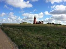 Bovbjerg-Leuchtturm Stockfoto