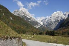 Bovec Σλοβενία Στοκ φωτογραφία με δικαίωμα ελεύθερης χρήσης