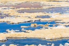 Boveda camino de Salar De Tara Fotografia Royalty Free