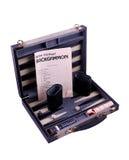 Boven backgammon Royalty-vrije Stock Foto
