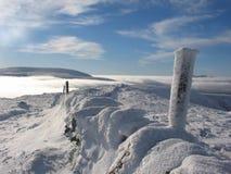 Boven de wolken dichtbij Glenshee Royalty-vrije Stock Afbeeldingen