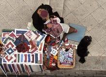 Boven Dubrovnik royalty-vrije stock afbeelding