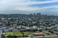 Boven mening aan de stad van Durban Royalty-vrije Stock Afbeelding