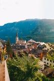 Boven-Oostenrijk Hallstatt Stock Foto