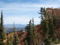 Boven op een Plateau in Zuid- Centraal Utah stock afbeeldingen