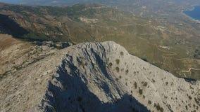 Boven Rocky Ridge 1 stock videobeelden