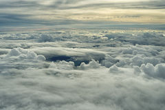 Boven wolken 1 Stock Foto