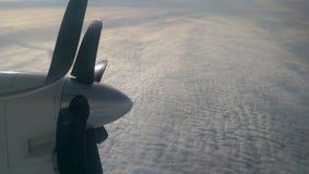 Boven wolken Royalty-vrije Stock Afbeelding