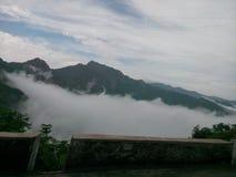 Boven wolken stock fotografie