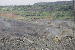 Bovengrondse mijnbouw Stock Fotografie