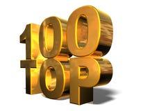 Bovenkant 100 Stock Foto