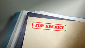 Bovenkant - geheim stock foto's