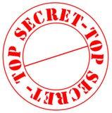 Bovenkant - geheim Vector Illustratie