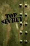 Bovenkant - geheim royalty-vrije stock afbeeldingen