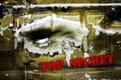 Bovenkant - geheim royalty-vrije stock foto