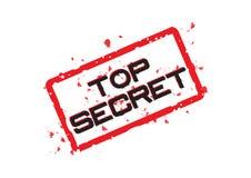 Bovenkant - geheim - vector Stock Foto's