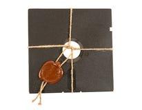 Bovenkant - geheime diskette Stock Foto's