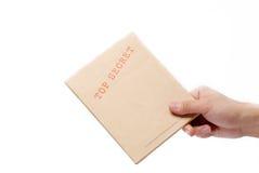 Bovenkant - geheime doos Stock Afbeeldingen