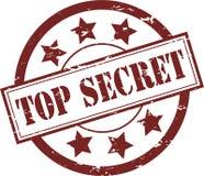 Bovenkant - geheime RubberZegel (Vector) Royalty-vrije Stock Foto's