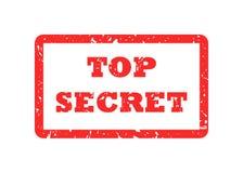 Bovenkant - geheime zegel Stock Afbeeldingen
