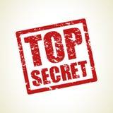 Bovenkant - geheime zegelachtergrond Royalty-vrije Stock Foto