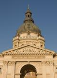 Bovenkant van basiliek in Boedapest Stock Fotografie