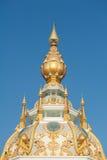 Bovenkant van Boedha in Thailand Stock Fotografie