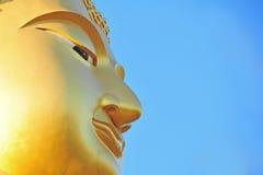 Bovenkant van Boedha in Thailand Stock Foto's
