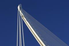 Bovenkant van brug Stock Fotografie