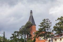 Bovenkant van DaLat-de school van leraarsCollege Royalty-vrije Stock Foto