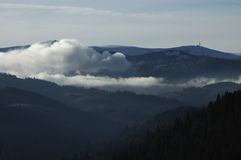 Bovenkant van de berg Royalty-vrije Stock Foto