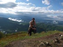 Bovenkant van de berg Stock Fotografie