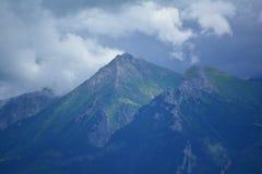 Bovenkant van de berg Royalty-vrije Stock Foto's