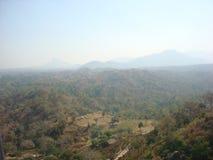 Bovenkant van de heuvel gujurat Royalty-vrije Stock Foto