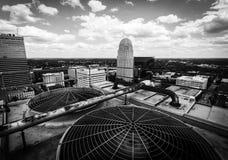 Bovenkant van de Stad Stock Foto