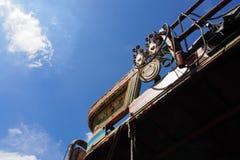 Bovenkant van de vrachtwagendecoratie royalty-vrije stock afbeelding