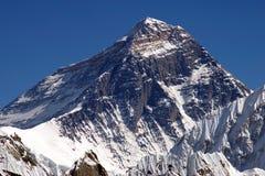 Bovenkant van de wereld Everest 8848 Royalty-vrije Stock Foto