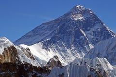 Bovenkant van de wereld Everest 8848 Royalty-vrije Stock Foto's