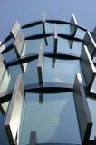 Bovenkant van glas en steen Stock Foto