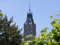Bovenkant van het Parlement Stock Foto