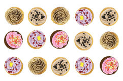 Bovenkant van kopcakes Royalty-vrije Stock Afbeeldingen