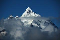 Bovenkant van Meili snowberg Royalty-vrije Stock Foto