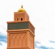 Bovenkant van moskee Stock Foto's